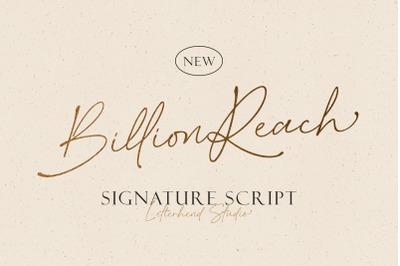Billion Reach - Signature Script