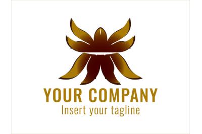 Logo Gold Ornament