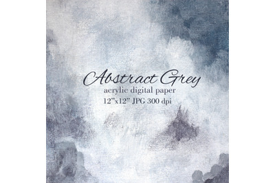 Cloud grey acrylic texture Abstract paint grey background