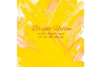 Yellow acrylic background Yellow orange gradient texture