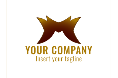 Logo Gold Icon Ornament