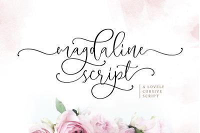 Magdaline - Lovely Script