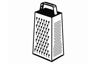 cheese grater SVG, PNG, DXF, clipart, EPS, vector cut file