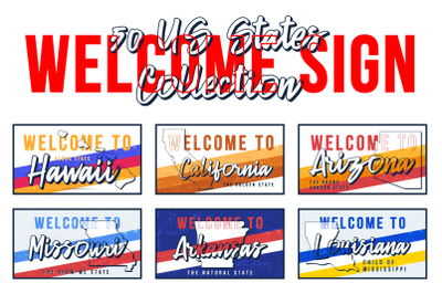 Welcome to 50 US states set