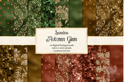 Autumn Glam Digital Paper