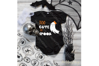 Too Cute To Spook Svg