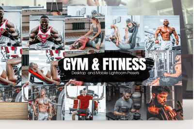 Gym & Fitness Lightroom Presets