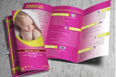 Baby Product Trifold