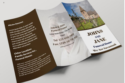 Funeral Services Trifold