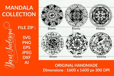 Mandala Collection Decoration