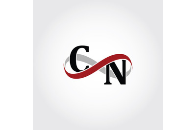 CN Infinity Logo Monogram