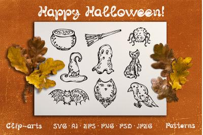 Halloween Design Kit 2
