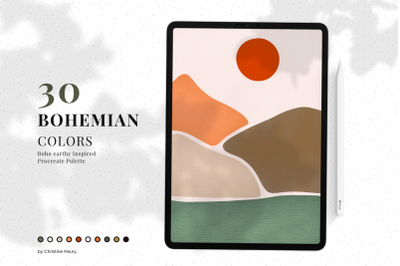 Bohemian - Procreate Color Palette