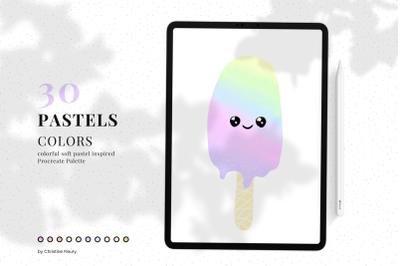 Pastels - Procreate Color Palette