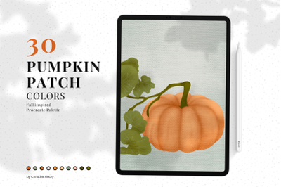 Pumpkin Patch - Procreate Color Palette