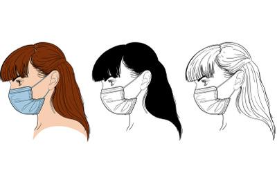Girl In Mask