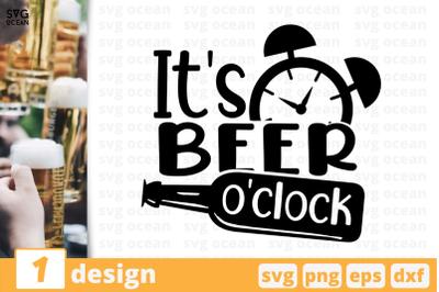 It's beer o'clock,Beer quote
