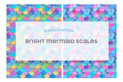 Bright Mermaid Scales