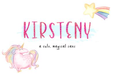 Kirsteny Sans Font