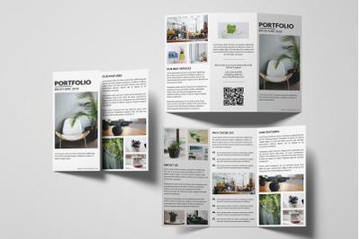 Multipurpose Trifold Brochure Template   Portfolio Brochure