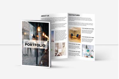Multipurpose Bifold Brochure Template | Portfolio Brochure