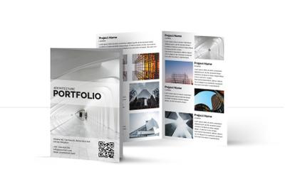 Architecture bifold Brochure | Multipurpose Bifold Brochure