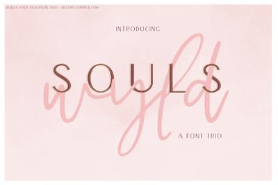Souls Wyld Font Trio