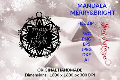 Mandala Merry&Bright