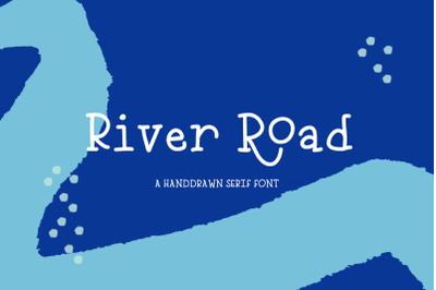 River Road Typewriter Font