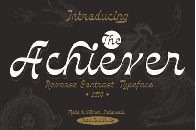 The Achiever - Reverse Contrast