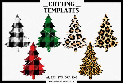 Christmas Tree SVG, Christmas Bundle, Silhouette, Cricut