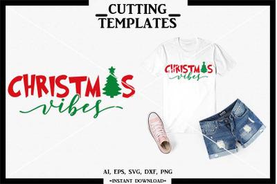 Merry Christmas, Christmas Vibes, Silhouette, Cricut, Cameo
