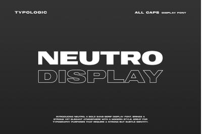 Neutro Display