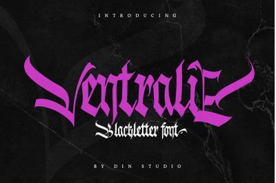 Ventralie-Blackletter Font