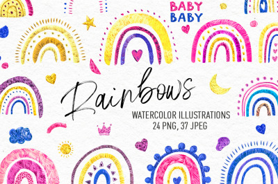 Rainbows - Illustrations