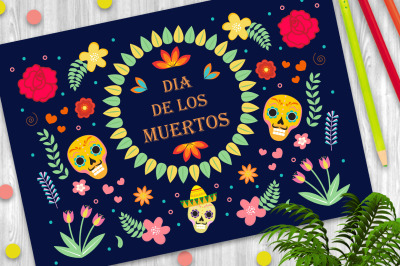 Dia de los muertos collection+ bonus