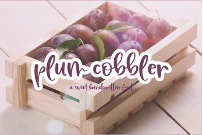 Plum Cobbler Script