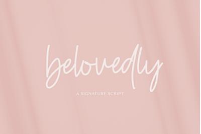 Belovedly Script