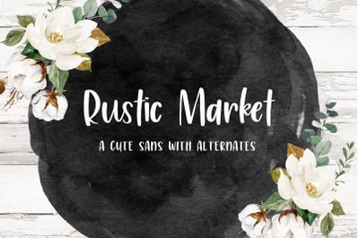 Rustic Market Sans