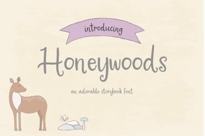 Honeywoods Storybook Font