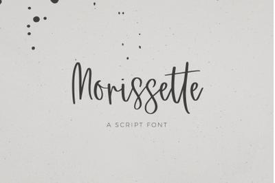 Morissette Script