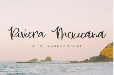 Riviera Mexicana Calligraphy Font