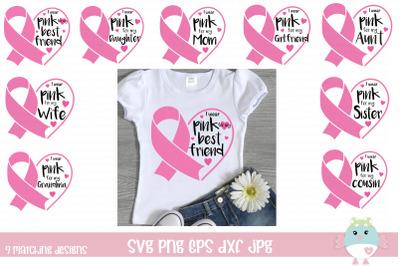Breast cancer awareness ribbon bundle