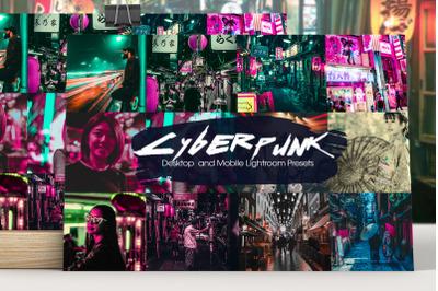 Cyberpunk Lightroom Presets