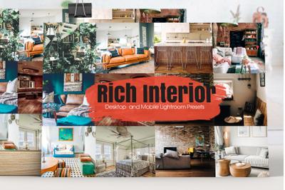 Rich Interior Lightroom Presets