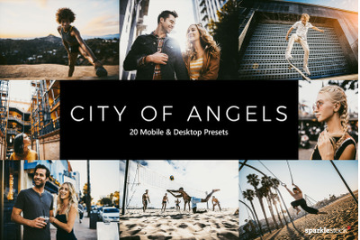 20  City of Angels LR Presets