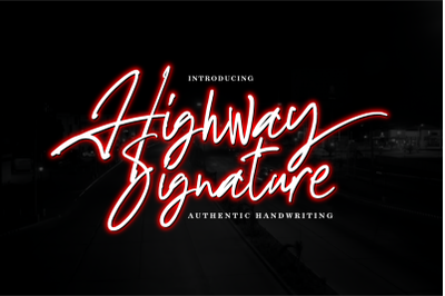 Highway Signature