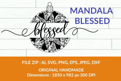 Blessed Decoration
