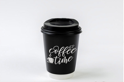it's coffee time | SVG PNG PDF EPS JPG and PSD