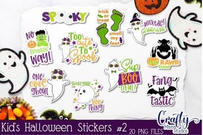 Kids Halloween Sticker Bundle - Halloween Stickers - Fun Kid's